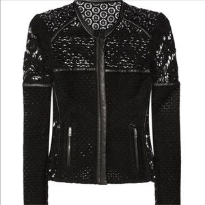 Fabulous IRO lace and leather jacket!!